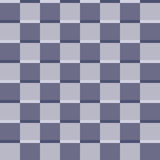 Seamless geometric pattern of squares. In shades of blue Stock Photo