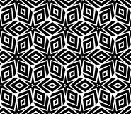 Seamless geometric pattern with star Royalty Free Stock Photo