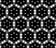 Seamless geometric pattern with stars Stock Images