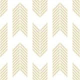 Seamless geometric pattern with striped lines. Decorative element, geometric pattern in op art style. Vector Illustration stock illustration