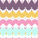 Seamless geometric pattern textiles pastel texture background Stock Photos
