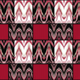 Seamless geometric pattern textiles retro texture background Stock Image