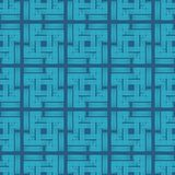 Seamless geometric pattern. The texture of the colored cells. Scribble texture. Textile rapport Stock Photography