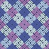 Seamless geometric pattern. The texture of the colored cells. Scribble texture. Textile rapport Stock Image