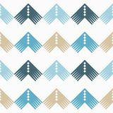Seamless geometric pattern. The texture of the corners. Scribble texture. Textile rapport Royalty Free Stock Image