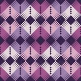 Seamless geometric pattern. The texture of the corners. Scribble texture. Textile rapport Stock Photo