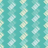 Seamless geometric pattern. Texture from figured strips. Scribble texture. Textile rapport Royalty Free Stock Photography