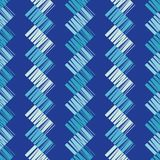Seamless geometric pattern. Texture from figured strips. Scribble texture. Textile rapport Stock Photos