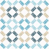 Seamless geometric pattern. Texture from figured strips. Scribble texture. Textile rapport Royalty Free Stock Photo