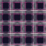 Seamless geometric pattern. Texture from figured strips. Textile rapport Royalty Free Stock Image
