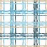 Seamless geometric pattern. Texture from figured strips. Textile rapport Royalty Free Stock Photo