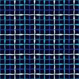 Seamless geometric pattern. Texture from figured strips. Textile rapport Royalty Free Stock Images