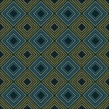 Seamless geometric pattern. The texture of rhombus. Drops texture. Textile rapport Royalty Free Stock Photography