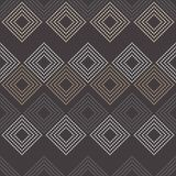 Seamless geometric pattern. The texture of rhombus. Drops texture. Textile rapport Stock Images