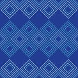 Seamless geometric pattern. The texture of rhombus. Drops texture. Textile rapport Stock Photography