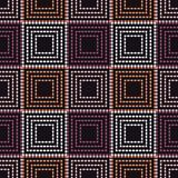 Seamless geometric pattern. The texture of squares. Drops texture. Textile rapport Royalty Free Stock Images