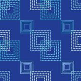 Seamless geometric pattern. The texture of squares. Drops texture. Textile rapport Royalty Free Stock Photography