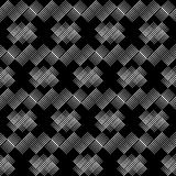 Seamless geometric pattern. The texture of the stripes at dots. Scribble texture. Textile rapport Stock Photos