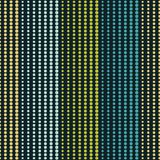 Seamless geometric pattern. The texture of the strips at points. Scribble texture. Textile rapport Stock Images