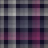 Seamless geometric pattern. The texture of the strips at points. Scribble texture. Textile rapport Stock Photography