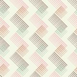 Seamless geometric pattern. The texture of the triangles at points. Scribble texture. Textile rapport Stock Image