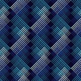 Seamless geometric pattern. The texture of the triangles at points. Scribble texture. Textile rapport Royalty Free Stock Photo