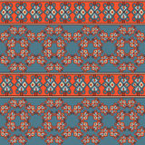 Seamless Geometric Pattern Tile Stock Photography