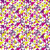 Seamless geometric pattern with triangle. Can be used in textiles, for book design, website background Royalty Free Stock Photography