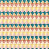 Seamless geometric pattern with triangles. Seamless abstract geometric pattern of strips with colored triangles Royalty Free Stock Photo