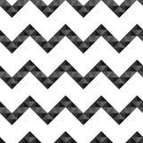 Seamless geometric pattern of triangles chevron Stock Photo