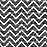 Seamless geometric pattern of triangles chevron Royalty Free Stock Photography