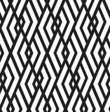 Vector abstract repeating classical background in black and whit Royalty Free Stock Photo