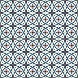 Seamless geometric pattern, Vector. Royalty Free Stock Photo