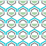Seamless geometric pattern. Vector background Stock Images