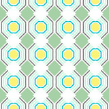 Seamless geometric pattern. Vector background Stock Photo