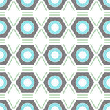 Seamless geometric pattern. Vector background Stock Image