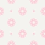 Seamless geometric pattern. Seamless pattern.Vector background. Retro stylish texture. Repeating geometric with flower shape Royalty Free Stock Images