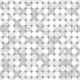 Seamless geometric pattern. Seamless pattern.Vector background. Retro stylish texture. Repeating shiny silver paillettes Royalty Free Stock Photos