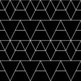 Seamless geometric pattern. Vector classical background in black and white color. Seamless geometric pattern. Vector abstract classical background in black and stock illustration