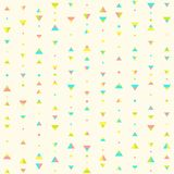 Seamless geometric pattern. Vector EPS 10 seamless pattern Royalty Free Stock Photos