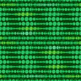 Seamless geometric pattern. Vertical wavy dots. Royalty Free Stock Images