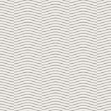 Seamless geometric pattern, wave line overlap on light brown background, stripes abstract template, vector illustration. Seamless geometric pattern, wave line Stock Images