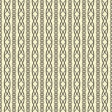 Seamless geometric pattern weave braids Stock Photo