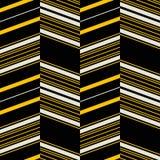 Seamless retro fashion textile print. Seamless geometric pattern in yellow, black, dusty white colors. Retro fashion textile print Royalty Free Stock Photo