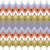 Seamless geometric pattern with zig zags textiles design texture Stock Photos