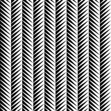 Seamless geometric pattern. Zigzag stripes. Vector graphic texture Stock Image