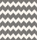 Seamless geometric pattern with zigzag structure Royalty Free Stock Photos