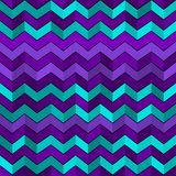Seamless geometric pattern with zigzags Royalty Free Stock Photography