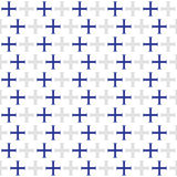Seamless geometric patterns Royalty Free Stock Photos