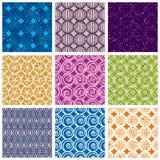 Seamless geometric patterns 2. Stock Photo
